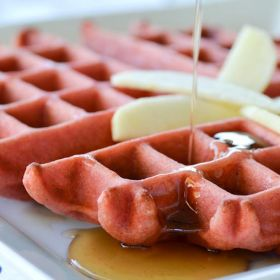 Pink Waffles and a Big Girls Day