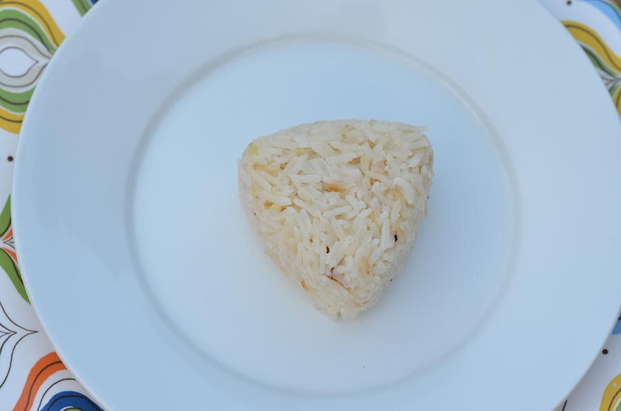 Fancy coconut rice