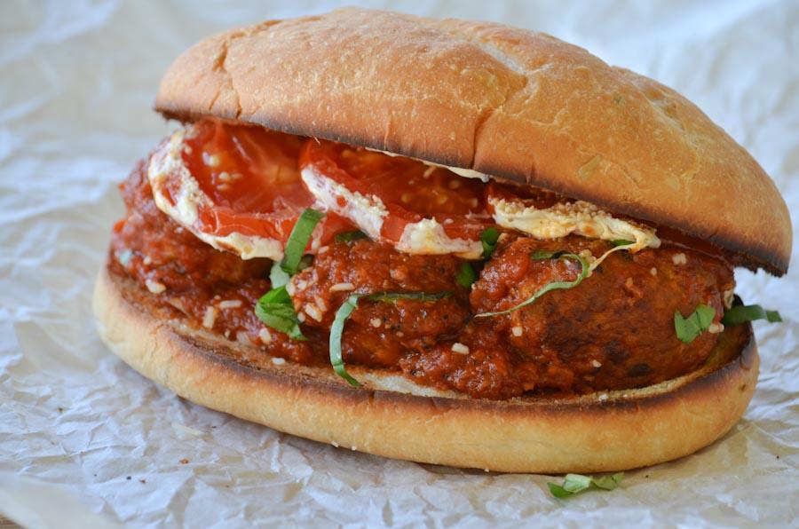 Turkey Meatball Sub, Yummy